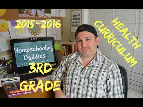 Health Curriculum / 3rd Grade Homeschool 2015-2016