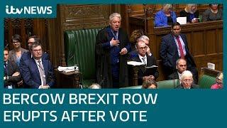 Speaker John Bercow caught in Brexit storm | ITV News