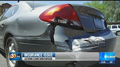 Phoenix woman says car rental company owes for wrecked car