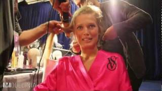 Toni Garrn Backstage at the Victoria