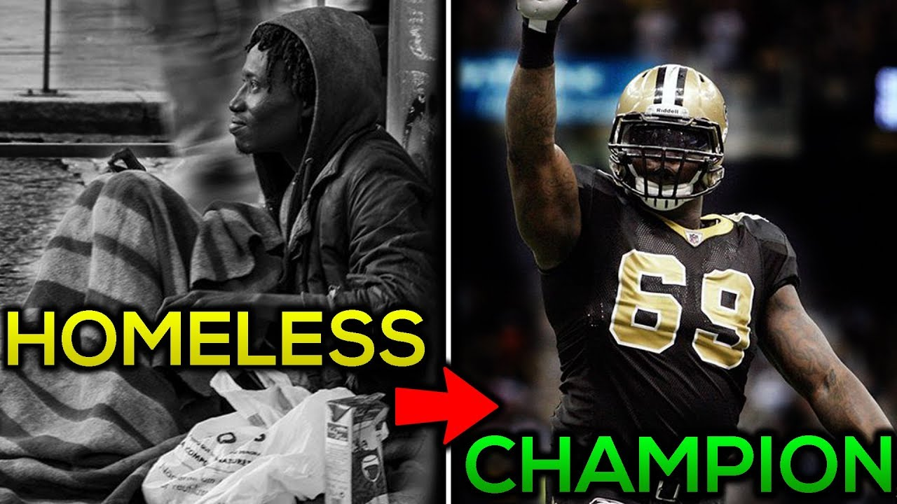 From HOMELESS And DRUG ADDICT to NFL CHAMPION! The Story of ...