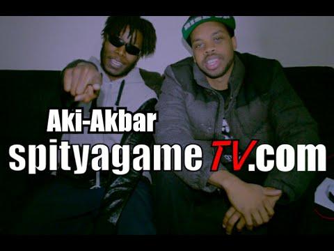 Spit Ya Game Tv Interview - Aki-Akbar