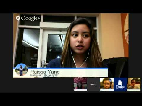 Duke University Admitted Student Chat: Arts and Humanities