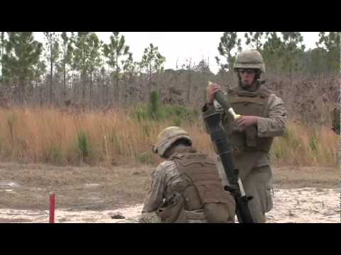 22nd MEU BLT 2/2 Weapons Company Marines Conduct Live Fire Exercise