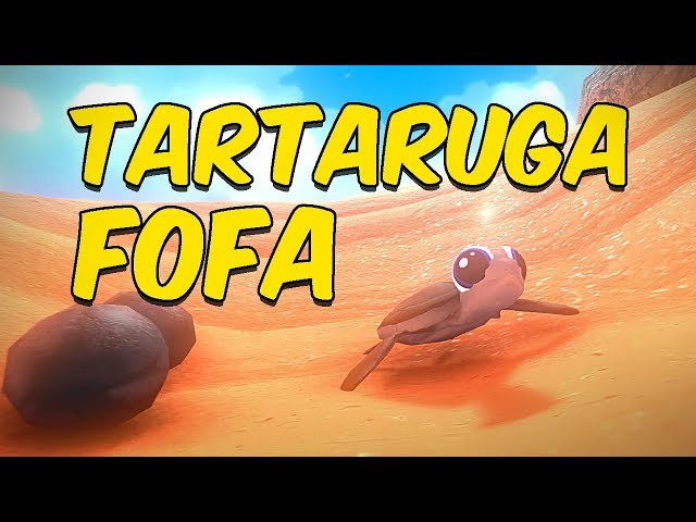 ESSA TARTARUGA É MUITO FOFA | Feed and Grow Fish
