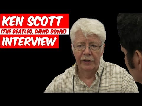 Ken Scott Interview (The Beatles, David Bowie) and Sound Techniques at NAMM - Produce Like A Pro Mp3
