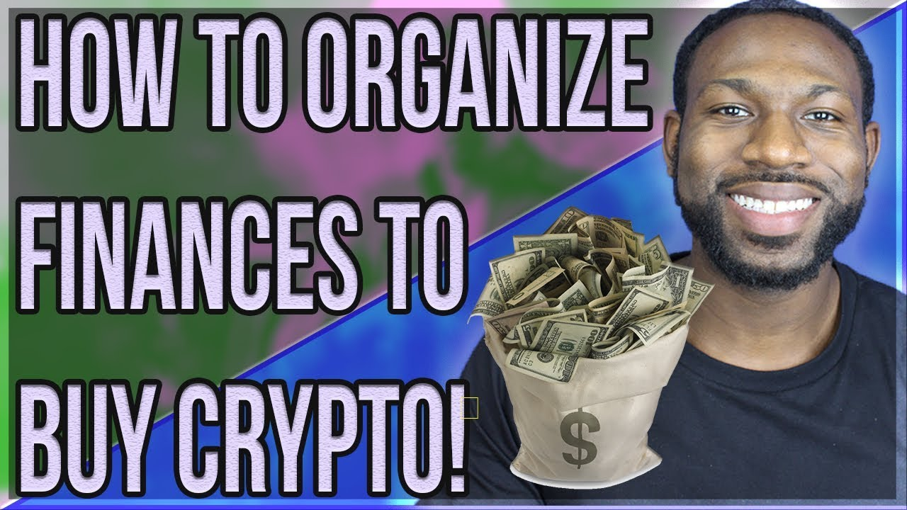 How to organize cryptocurrency