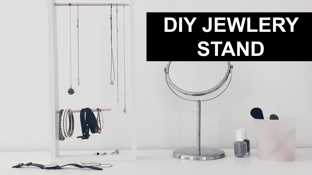 DIY JEWELRY STAND URBAN OUTFITTERS INSPIRED YouTube