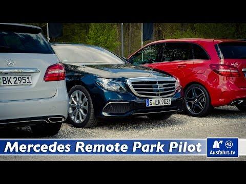 2016 Mercedes-Benz E-Klasse (W213) - Assistenzsysteme Remote Park-Pilot und NFC