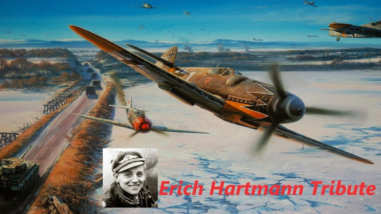 11 Kills in a Day - The True Story of Erich Hartmann - Historic WWII Cinematic IL2 Sturmovik