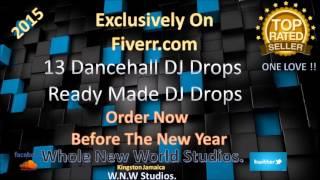 dj drops Dub Plates Jingles Radio Ads (Reggae & Dancehall Style) for $5