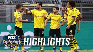 Dortmund Earns Much Needed Three Points, Blanks Hertha Berlin 1-0 | 2020 Bundesliga Highlights