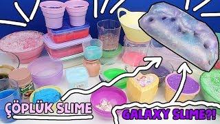 Çöplük Slime Koleksiyonluk Galaxy Slime'a Dönüştü! Slime Çorbası Dönüştü!! Bidünya Oyuncak