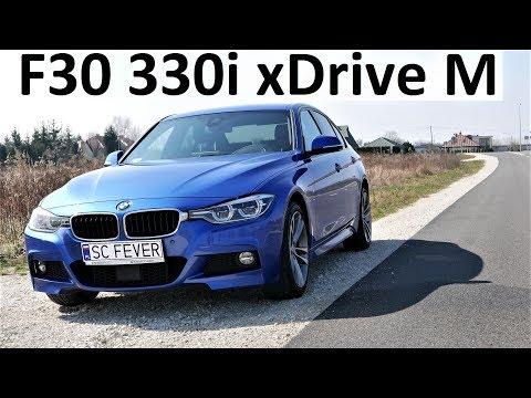 F30 BMW 330i xDrive M Sport TEST DRIVE [Pierwsze Wrażenia] Jazda Próbna Testowa PL