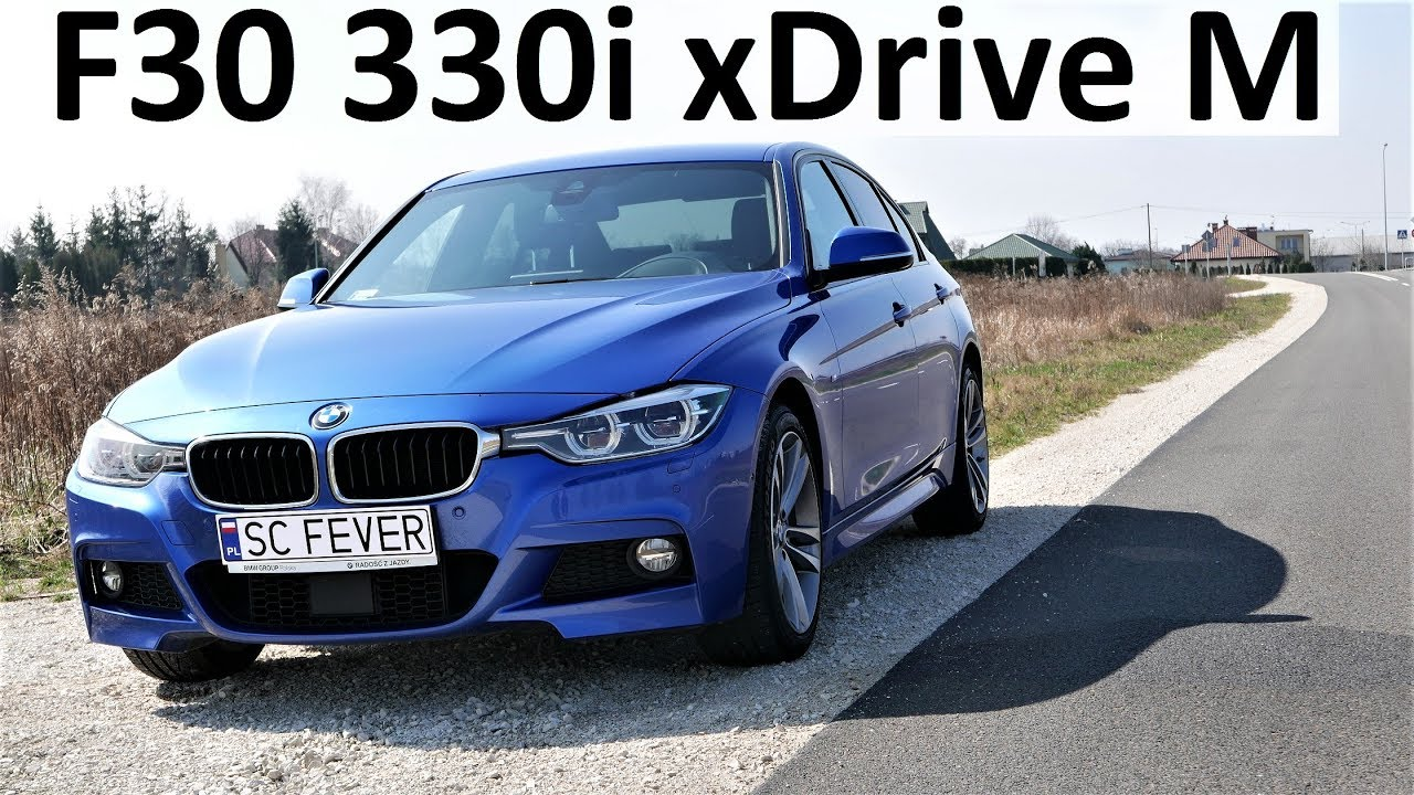 f30 bmw 330i xdrive m sport test drive pierwsze wra enia. Black Bedroom Furniture Sets. Home Design Ideas