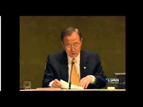 UNGA vote on Palestine observer state status.
