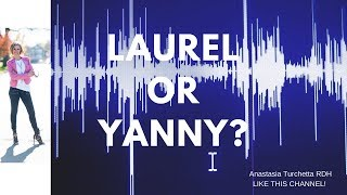 What Word Do You Hear? Yanny or Laurel?