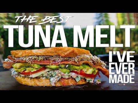The Best Tuna Melt Sandwich I've Ever Made | SAM THE COOKING GUY 4K