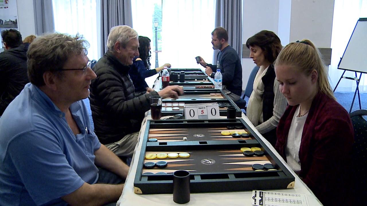 Online Backgammon Tournaments