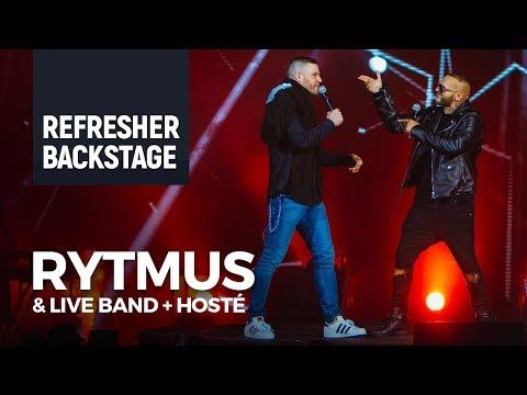 Backstage: Rytmus Forum Karlín (Separ, Majk Spirit, Čis T, Ego)