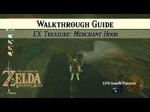 Breath Of The Wild | EX Treasure: Merchant Hood [DLC 2] Side Mission