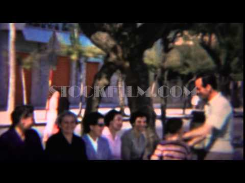 1964: Dad Publically Spanking Boy With Laughing Complacent Women. ROME, ITALY