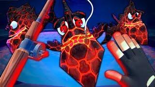 LAVA FISH'S UNDERGROUND CAVE - Crazy Fishing (VR)