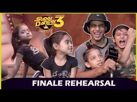 Super Dancer Chapter 3 Finale: Finalist Rupsa, Saksham & Tejas Rehearse For Finale With Guru Tushar Mp3
