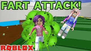 Roblox: Fart Attack / WHO HAS THE BIGGEST FARTS IN ROBLOX?! 💩