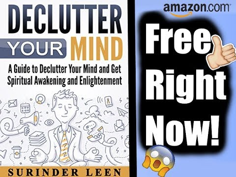 Declutter Your Mind Free Download Availible On Amazon For 5 Days