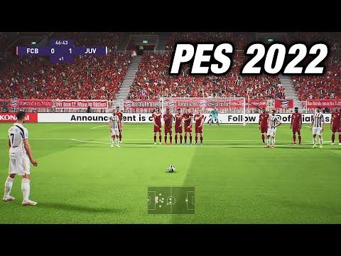 PES 2022 FIRST OFFICIAL NEW GAMEPLAY (NEXT GEN)
