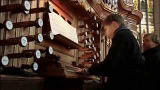 J.S.Bach: A Passionate Life - 2013 BBC Documentary - Organ BWV 546 - Sebastian Heindl