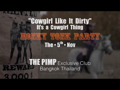 HONKY TONK Party in Bangkok!
