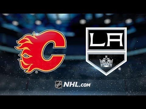 Calgary Flames vs Los Angeles Kings – Nov. 10, 2018 | Game Highlights | NHL 2018