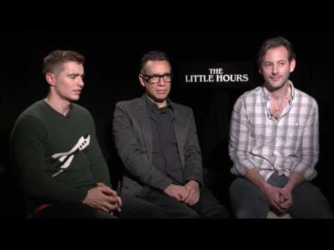with Dave Franco, Fred Armisen and Director Jeff Baena for The Little Hours