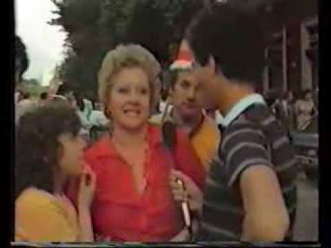 AS ROMA festeggiamenti  scudetto 1982 1983 Testaccio