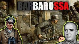 BARBAROSSA, AFRIKA KORPS, DDAY (Hoi4 multi wojna widzów) #2