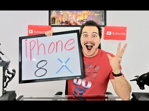 Apple Iphone 8 and Iphone X Reaction!
