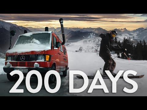 VANLIFE AUSTRIA - 200 Days Of Winter