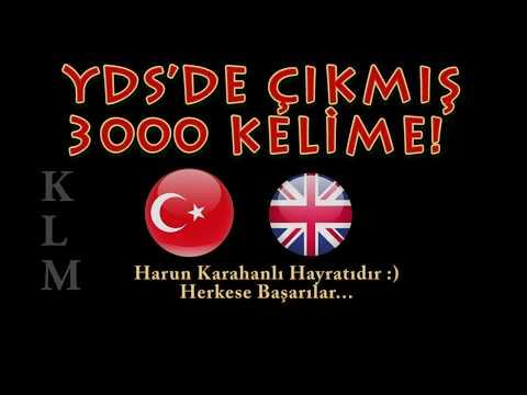 YDS'DE ÇIKMIŞ 3000 KELİME -KLM-