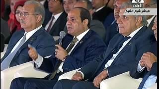 بالفيديو.. السيسي: هو مين بيبقى عايز ياخد ولاده ويحطهم في احتجاز؟