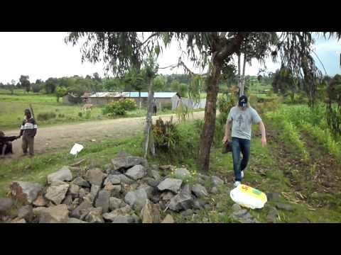 Holiday training part 5: Upper body circuit training at African maize plantations