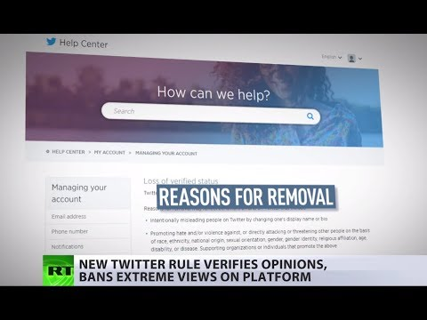 Twitter: No 'blue ticks' for far-right accounts