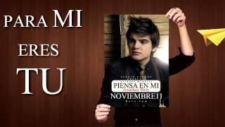Jonathan Moly - Piensa en mi (Lyrics)