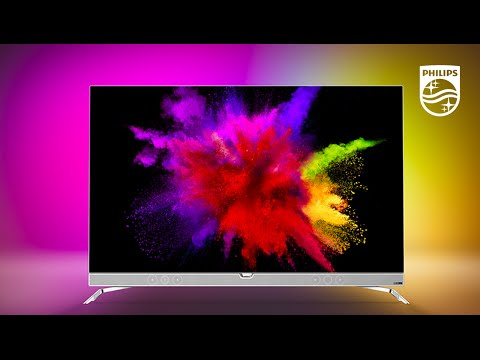 Philips 4K OLED TV: The world's only OLED TV with Ambilight