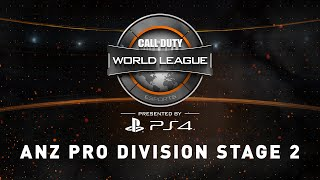 week 3 stage 2 5 4 anz pro division live stream official call of duty world league
