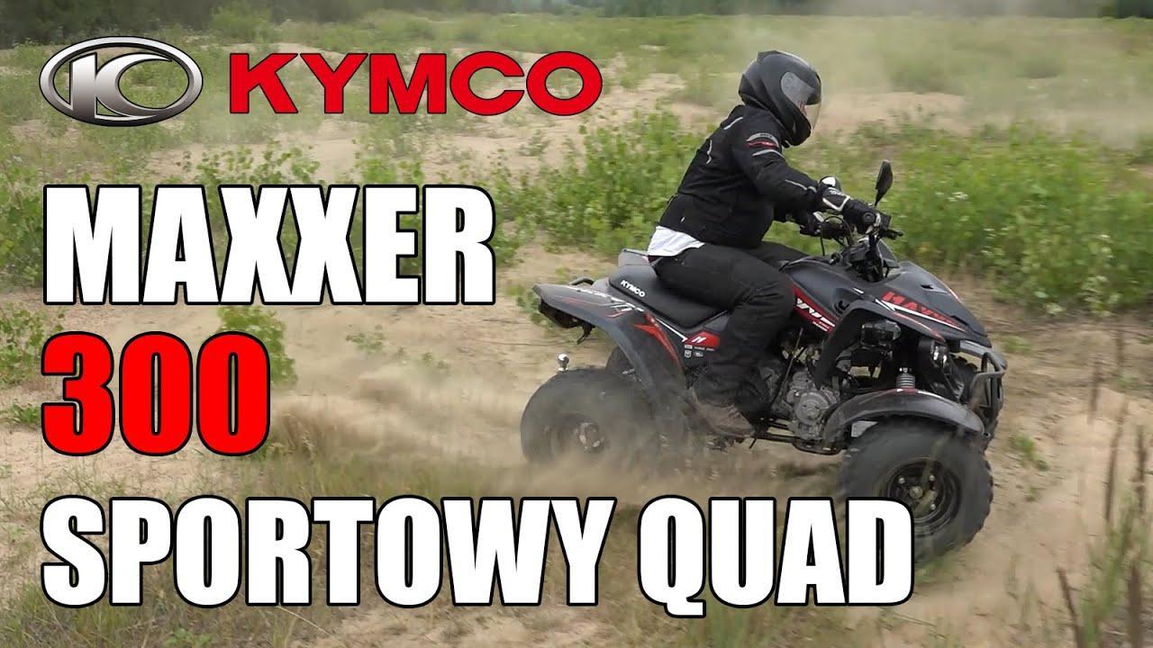 Odświeżony MAXXER 300, czyli sportowy quad od KYMCO