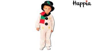 Детский костюм снеговика / Обзор