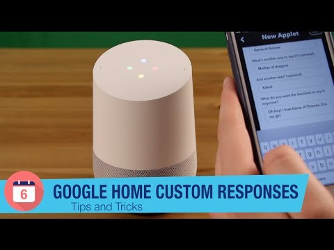 Make Google Home say anything with IFTT - YouTube