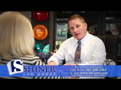 Slip, Trip and Fall Injury Attorney | Palm Beach County Injury Lawyer | Shiner Law Group